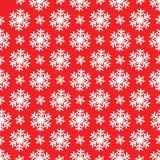 Sneeuwvlokpatroon Elke sneeuwvlok wordt gegroepeerd individueel voor het gemakkelijke uitgeven Royalty-vrije Stock Afbeeldingen
