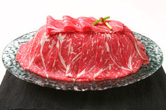 Sneeuwvlokrundvlees Royalty-vrije Stock Afbeeldingen