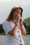 sneeze Στοκ φωτογραφία με δικαίωμα ελεύθερης χρήσης