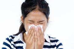 sneeze Imagens de Stock