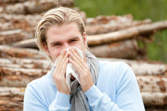 Sneezing Stock Photography