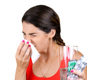 Sneezing Stock Images