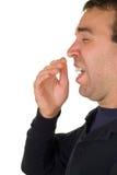Sneezing Man Stock Image