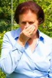 Sneezing Royalty Free Stock Photo