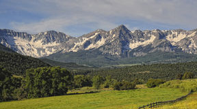 Sneffels mountain range Stock Images