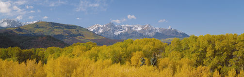 Sneffels Mountain Range Royalty Free Stock Photography