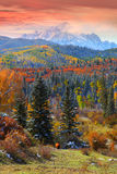 Sneffles mountain in Colorado Royalty Free Stock Photos
