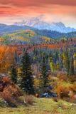 Snefflesberg in Colorado royalty-vrije stock foto's