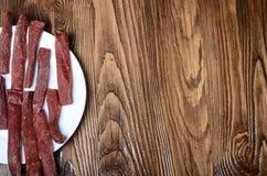 Snek chispeante sabroso Breadsticks Primer Fotos de archivo