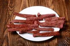 Snek chispeante sabroso Breadsticks Primer Imagen de archivo libre de regalías