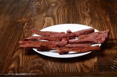 Snek chispeante sabroso Breadsticks Primer Imagenes de archivo