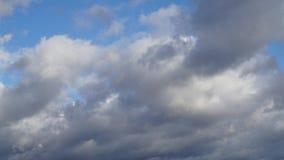 Snel Bewegende Regenonweerswolken stock video