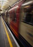 Snel bewegende trein Royalty-vrije Stock Fotografie
