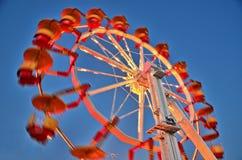 Snel het Spinnen rit Stock Fotografie