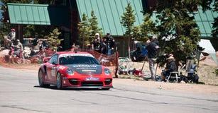 Snel Porsche Royalty-vrije Stock Foto's