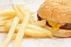 Snel voedsel Stock Afbeelding