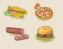 Snel voedsel Royalty-vrije Stock Afbeelding
