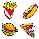 Snel voedsel Stock Fotografie