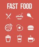 Snel voedsel Stock Foto