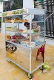 Snel voedseltribune, Vietnam Royalty-vrije Stock Foto