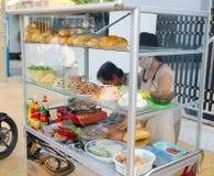 Snel voedseltribune, Vietnam Royalty-vrije Stock Afbeelding
