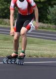 Snelheid gealigneerde het Schaatsen samenvatting van vleten en individu royalty-vrije stock foto's