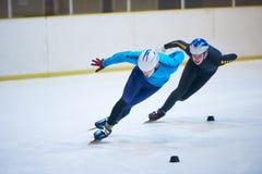 Snelheid het schaatsen royalty-vrije stock afbeelding