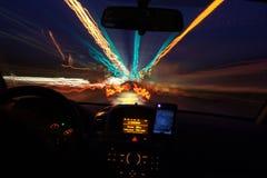 Snelheid van licht Stock Foto