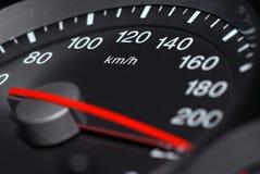 Snelheidsmeter. Stock Foto