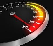 Snelheidsmeter Stock Fotografie