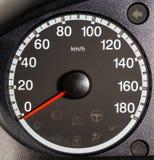 Snelheidsmeter Royalty-vrije Stock Foto's