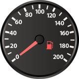 snelheidsmeter Stock Afbeelding