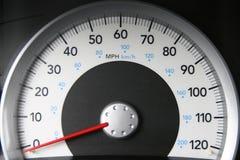 Snelheidsmeter Royalty-vrije Stock Foto