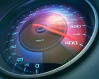 snelheidsmeter Royalty-vrije Stock Afbeelding