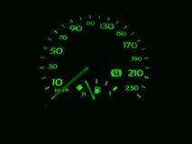 Snelheidsmeter (odometer) Royalty-vrije Stock Foto