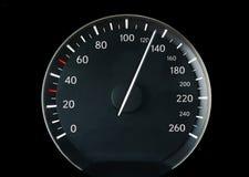 Snelheidsmeter van een auto Royalty-vrije Stock Afbeeldingen