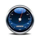 Snelheidsmeterpictogram Stock Afbeeldingen