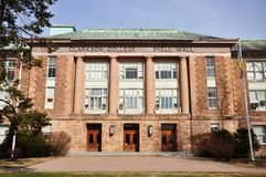 Snell Hall of Clarkson University Stock Image