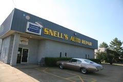 Snell`s Auto Repair Stock Photo
