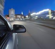 Snelle auto royalty-vrije stock fotografie