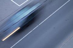 Snelle auto stock foto