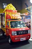 Snelle Autoshow2014 BANGKOK, THAILAND 4,2014 Juli a-vrachtwagen door TFK Chainese auto, Bitec-Overeenkomst Hall Bangna Royalty-vrije Stock Foto's