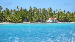 Snelle boot in het paradijs Royalty-vrije Stock Foto's