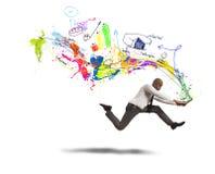 Snelle creatieve zaken Royalty-vrije Stock Fotografie