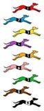Snelle honden Royalty-vrije Stock Fotografie