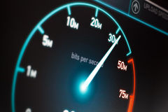 Snelle Internet-Verbinding Stock Foto's