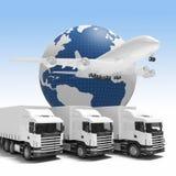 Snelle levering wereldwijd Stock Fotografie