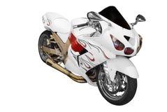 Snelle motorfiets royalty-vrije stock foto's