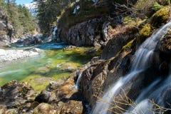 Snelle rivier Stock Afbeeldingen