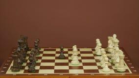 Snelle schaakmat Eindemotie royalty-vrije illustratie